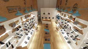 LOLLY עיצוב פנים חנות נעליים בקניון עזריאלי , קונספט העיצובי שונה